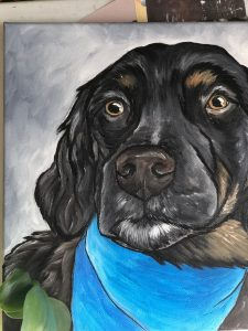 shop local raleigh pet painting